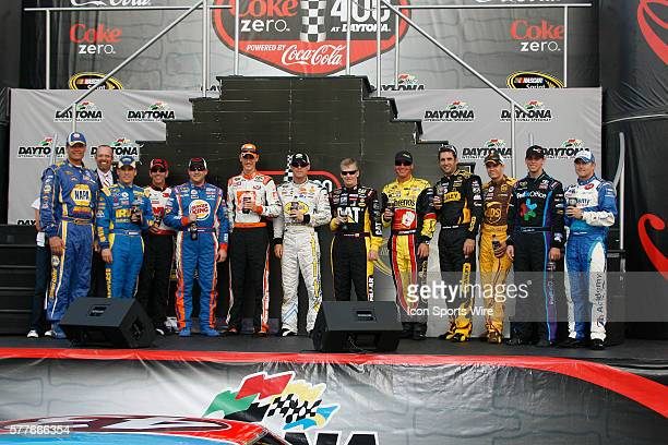 Michael Waltrip Kyle Petty Jamie McMurray Greg Biffle Tony Stewart Joey Logano Kevin Harvick Jeff Burton Clint Bowyer Elliott Sadler David Regan...