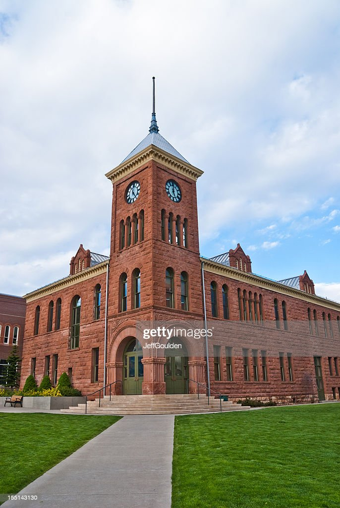Coconino County Courthouse : Stock Photo