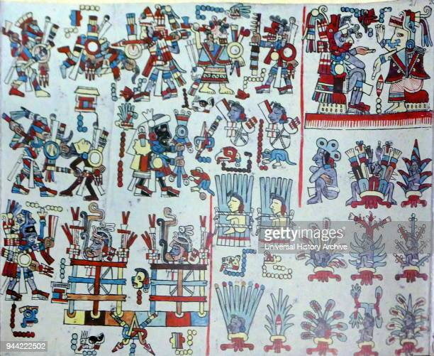 The Codex ZoucheNuttall or Codex Tonindeye is an accordionfolded preColumbian document of Mixtec pictography now in the collections of the British...