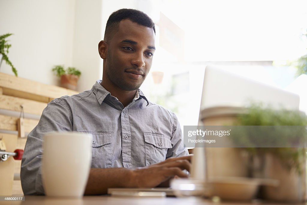 The coffee connection : Stock Photo