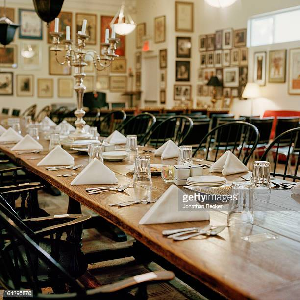 The Coffee House dining room is photographed for Vanity Fair Magazine on March 14 2012 in New York City PUBLISHED IMAGE