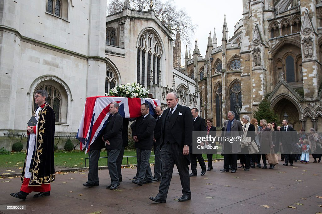 Funeral Of Former Liberal Party Leader Jeremy Thorpe : News Photo