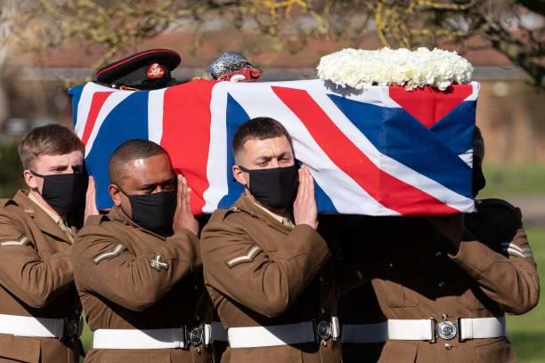 GBR: Captain Sir Tom Moore Funeral