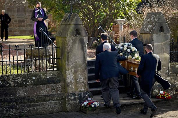GBR: Funeral Takes Place Of Scottish Singer Sydney Devine