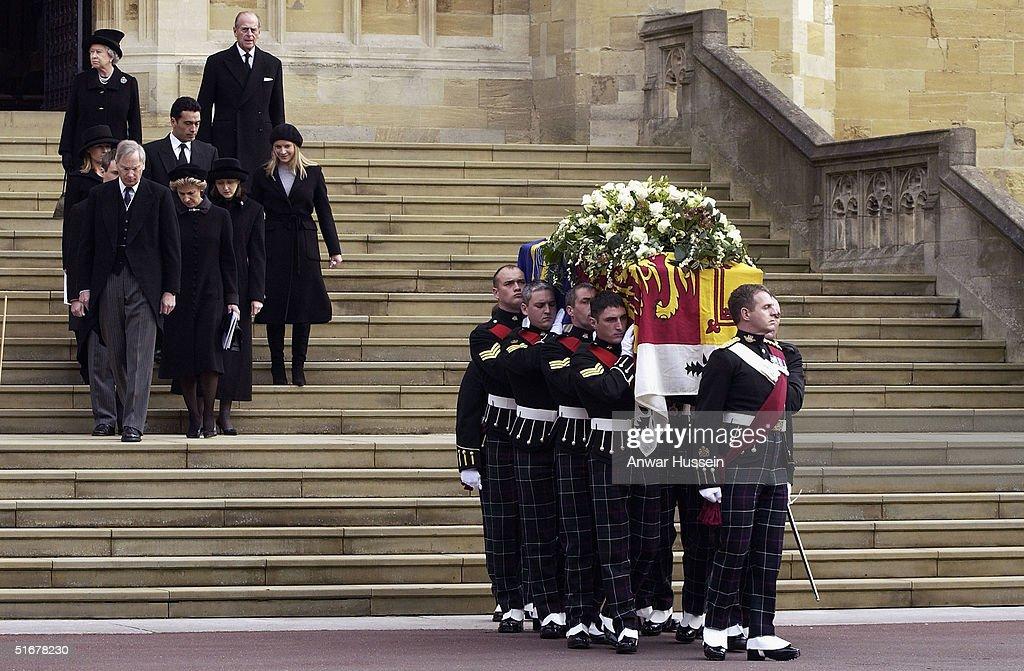 Funeral For Princess Alice : Nieuwsfoto's