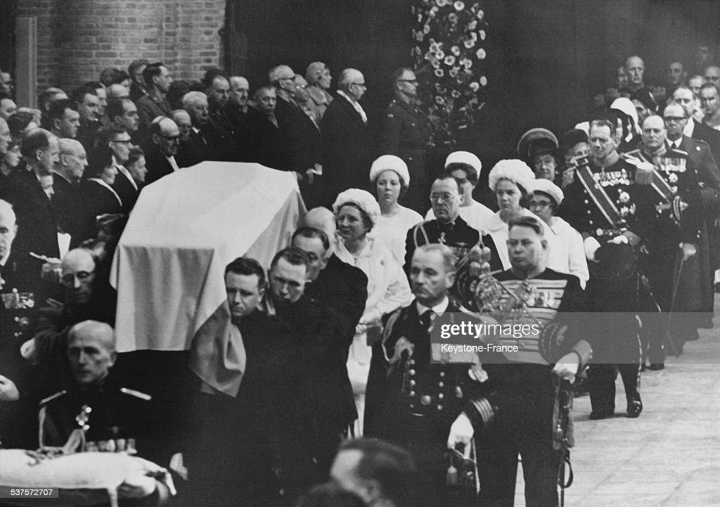 The Funeral Of Princess Wilhelmina : News Photo