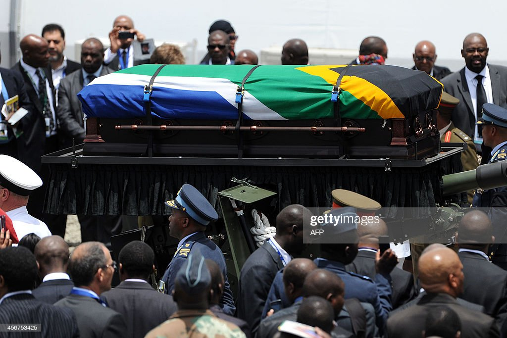 SAFRICA-MANDELA-FUNERAL : News Photo