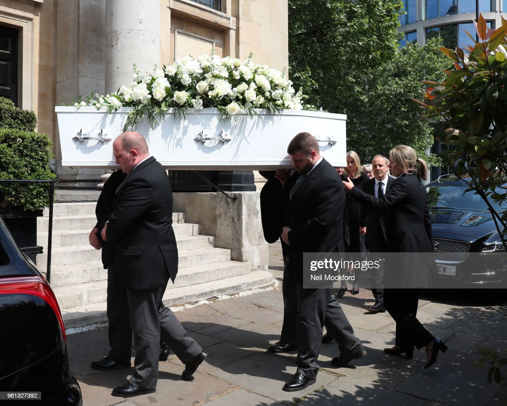 Dale Winton Funeral -  May 22, 2018
