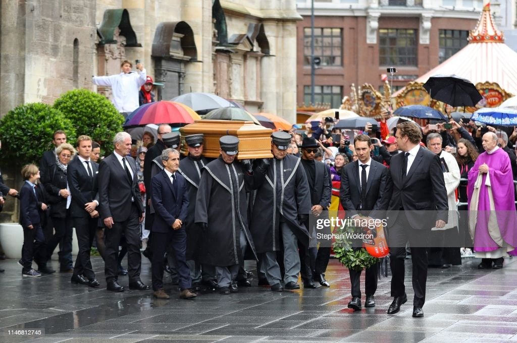 Niki Lauda Memorial Service : News Photo