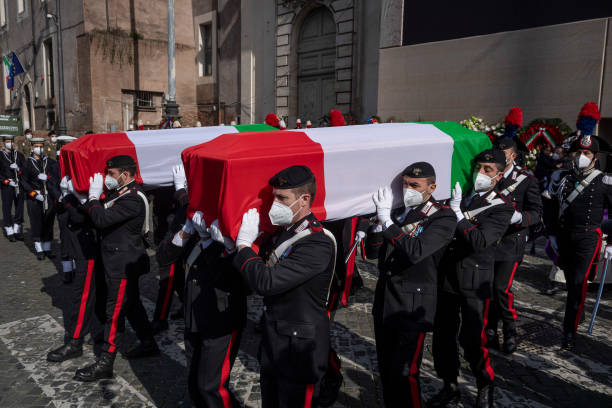 ITA: State Funeral For Italian Diplomats Killed In Congo Attack