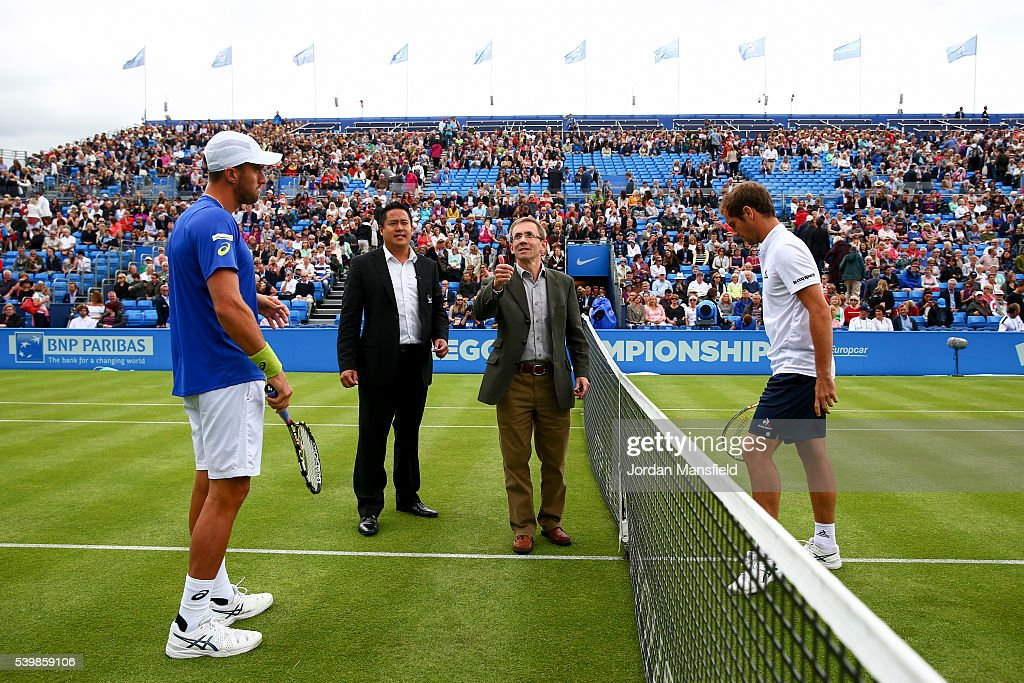 Aegon Championships - Day One : News Photo