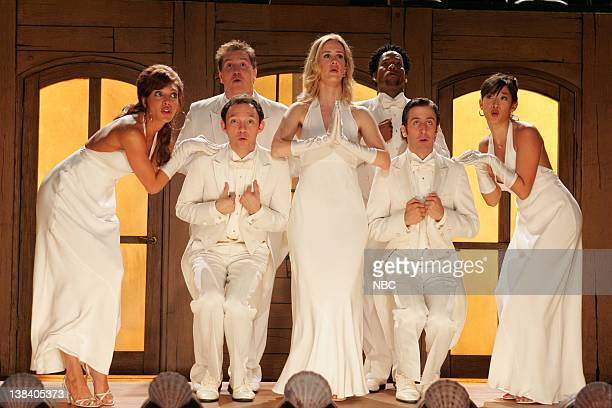 STRIP The Cold Open Episode 2 Pictured Ayda Field as Jeannie Whatley Nate Torrence as Dylan Killington Nathan Corddry as Tom Jeter Sarah Paulson as...