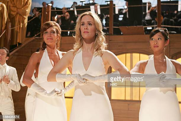 STRIP The Cold Open Episode 2 Pictured Ayda Field as Jeannie Whatley Sarah Paulson as Harriet Hayes Camille Chen as Samantha Li