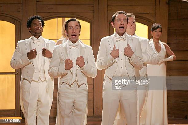 STRIP The Cold Open Episode 2 Pictured DL Hughley as Simon Stiles Simon Helberg as Alex Dwyer Nathan Corddry as Tom Jeter Nate Torrence as Dylan...