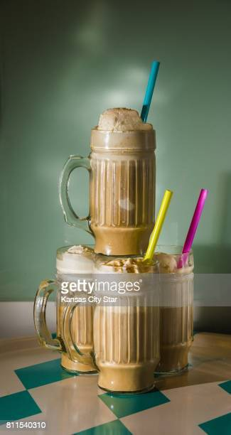 The ColdBrew Coffee Float brings together four ounces each of coldbrew coffee concentrate and club soda with two scoops of ice cream and if so...