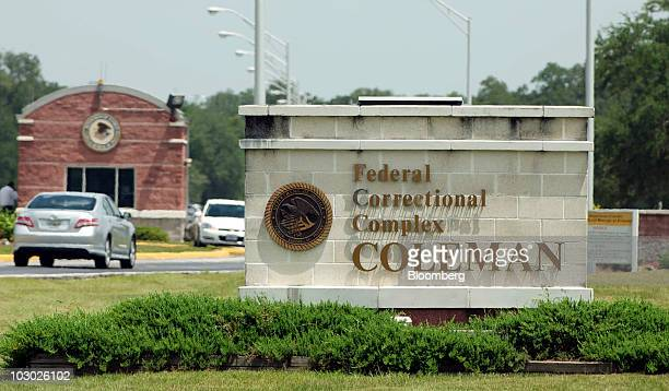 The Coleman Federal Correctional Complex stands in Coleman Florida US on Wednesday July 21 2010 Conrad Black the exHollinger International Inc...