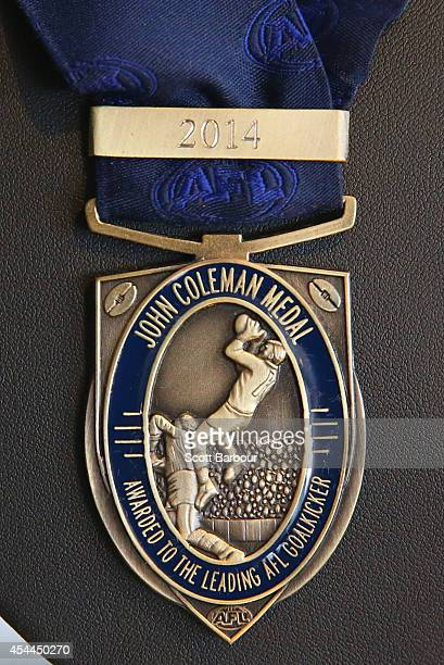 The Coleman Medal which is awarded yearly to the Australian Football League player who kicks the most goals in homeandaway matches in that year on...