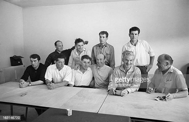 The Collapse Of Champagnole'S Mine In The Jura Kills 5 And Makes 9 Survivors En France à Champagnole le 27 juillet 1964 les galeries de la carrière...