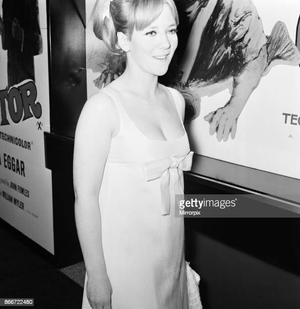 The Collector, 1965 film premiere at the Columbia Theatre, London, Wednesday 13th October 1965, picture shows Julia Foster, actress.