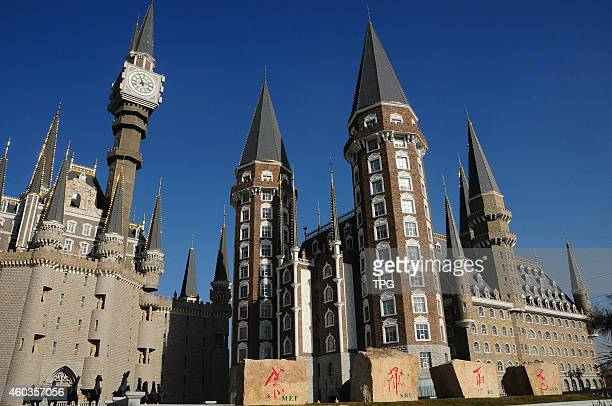 The college of fine arts which builts like Hogwarts School of Witchcraft and Wizardry begins of term on 12th December 2014 in Shijiazhuang Hebei China