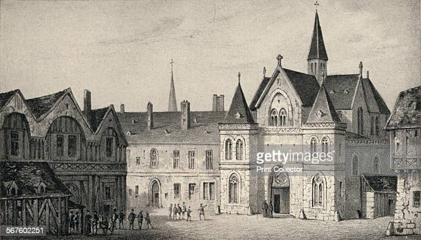 'The College of Sorbonne in 1550' 1915 From Paris Past and Present [London Offices of the Studio London 1915]