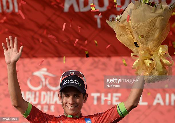 The Colombian rider Esteban Chaves wins Stage 3 the Al Ain Stage of the first Abu Dhabi Tour Al Ain Jebel Hafeet 142km taking the lead in the overall...