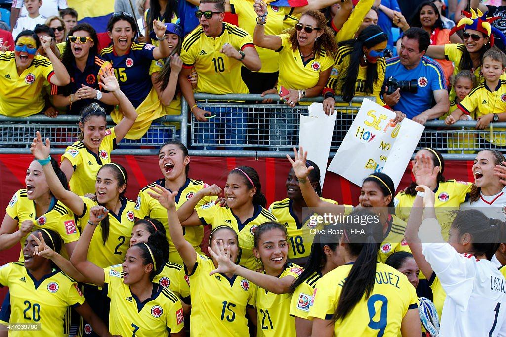 France v Colombia: Group F - FIFA Women's World Cup 2015 : News Photo