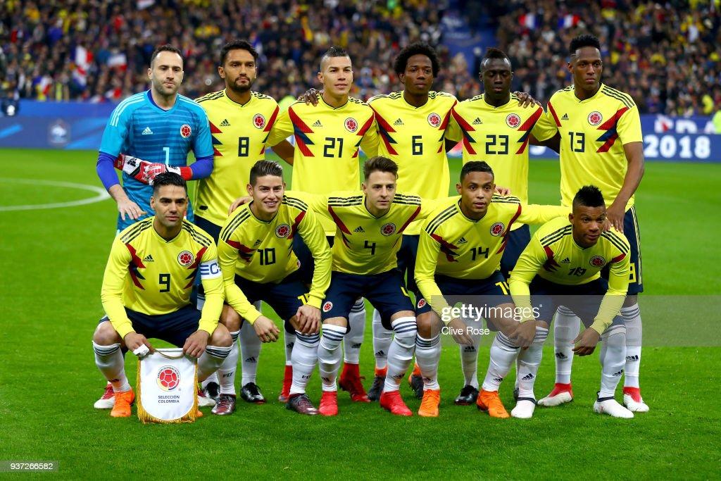 France v Colombia - International Friendly : Fotografía de noticias