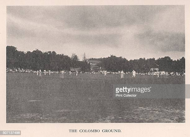 The Colombo Cricket Ground Ceylon 1912 From Imperial Cricket edited by P F Warner and published by The London and Counties Press Association Ltd...