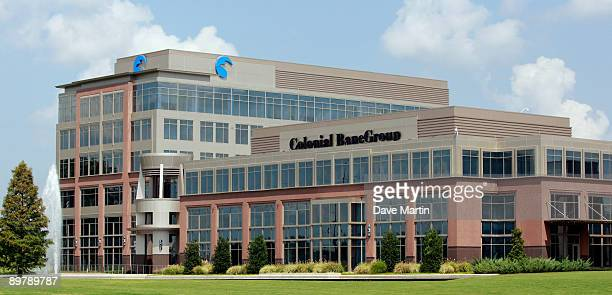 The Colonial Bank headquarters building stands August 14 2009 in Montgomery Alabama According to reports BBT Bank of WinstonSalem North Carolinia...