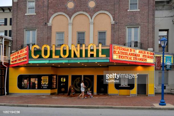 The Colonial theatre is located in the heart of the business corridor in Phoenixville PA on August 21 2018 To promote and secure it's recent economic...