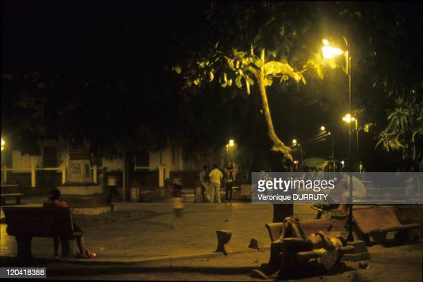 The Colonial Town of Mompox on an Island of the Magdalena River Colombia in 2009 Mompox or Mompos or Santa Cruz de Mompox is a town in Colombia in...