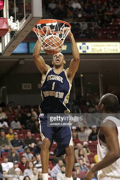 The Colonial's Omar Williams had 13 points as the George Washington Colonials defeated the Temple Owls 74 to 58 at the Liacouras Ctr in Philadelphia...