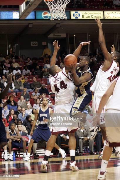 The Colonial's T.J.Thompson had 14 points as the George Washington Colonials defeated the Temple Owls 74 to 58 at the Liacouras Ctr in Philadelphia...