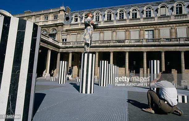 The 'Colonnes De Buren' On August 1st 1986 In ParisFrance