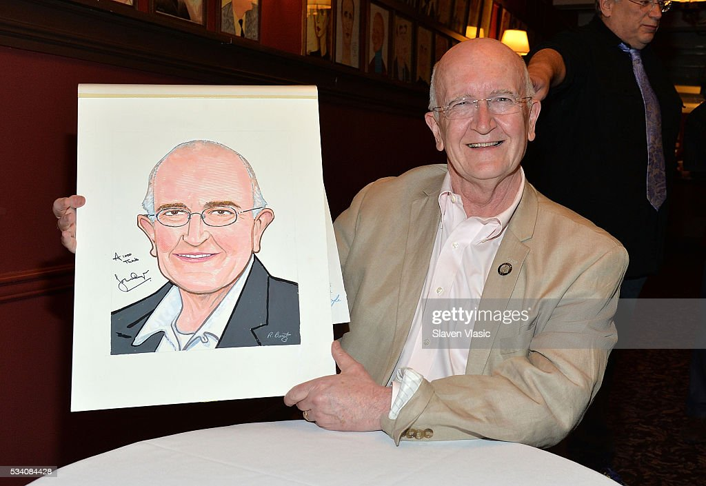 """The Color Purple"" Director John Doyle's Sardi's Caricature Unveiling"