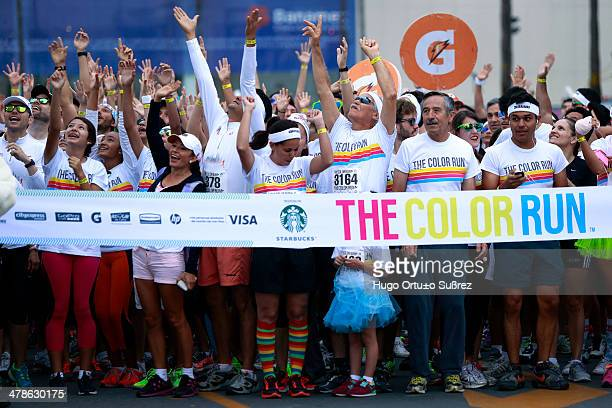 CONTENT] GUADALAJARA JALISCO MEXICO SEPTEMBER 29 The Color Run a oneofakind event organized by Starbucks which has been very famous in at least...