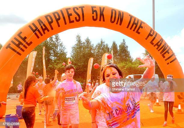 The Color Run dubbed the Happiest 5k on the Planet took place at the Etihad Campus in Manchester on 5th July 2015 with nearly 10000 participants...
