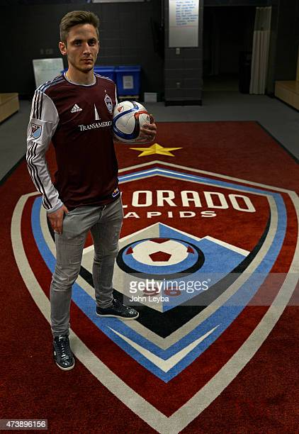 The Colorado Rapids introduce the newest Designated Player Kevin Doyle May 18 2015 at Dick's Sporting Goods Park The 6foot striker arriving to Major...