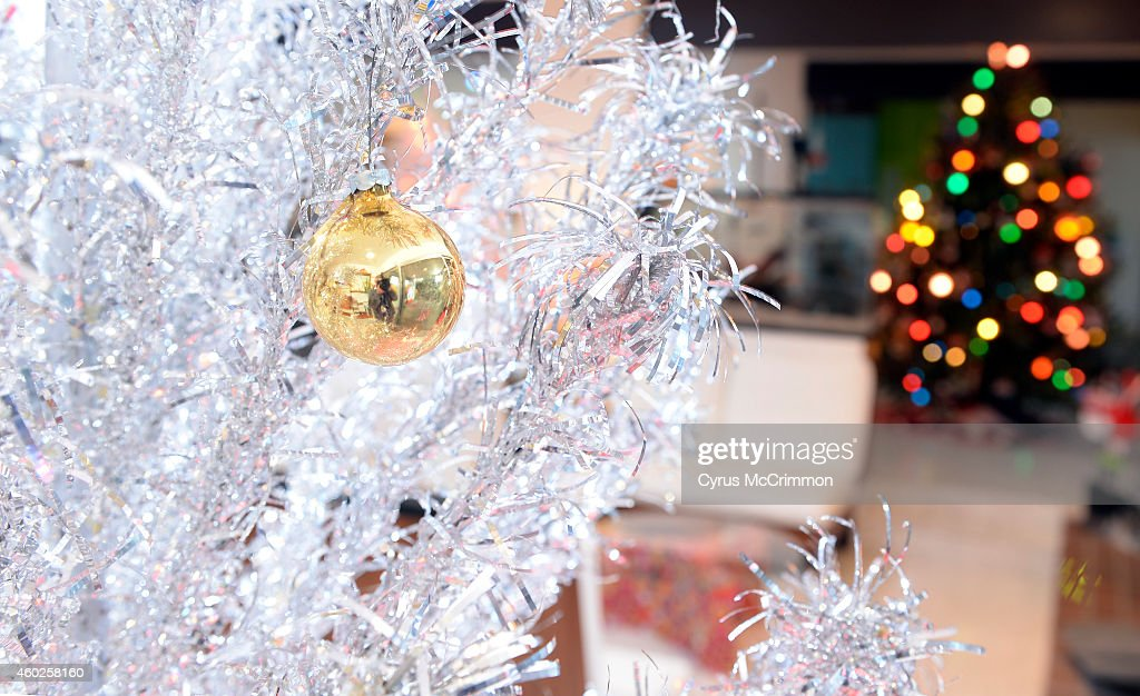 the colorful denver home of monica martinez and her husband john huggins on tuesday december - Aluminium Christmas Tree