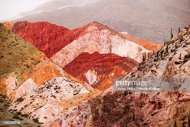 the colorful hills of purmamarca in northwest argentina
