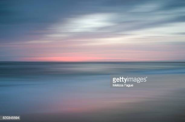 The Colors of Evening on the Beach Landscape Photograph