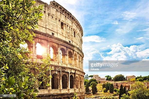 O Colosseum em Roma