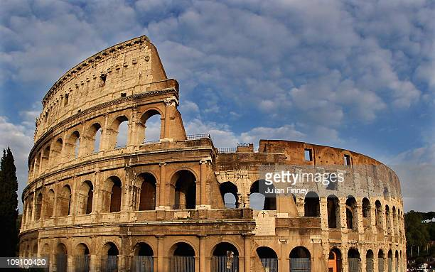 The Colosseum is seen on April 25 2010 in Rome Italy