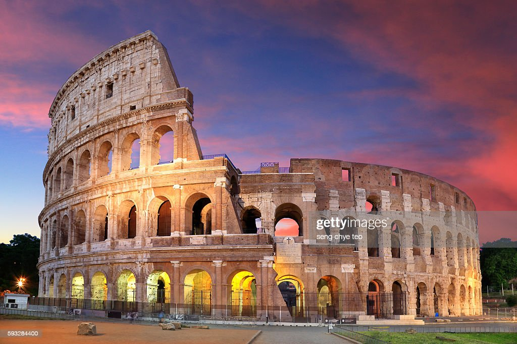 The Colosseum : Stock Photo