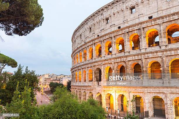 the colosseum, rome, italy - colosseum stock pictures, royalty-free photos & images