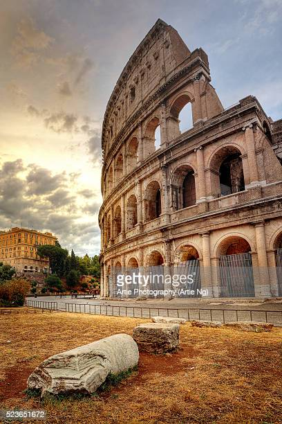 the colosseum, rome, lazio, italy - coliseum rome stock photos and pictures