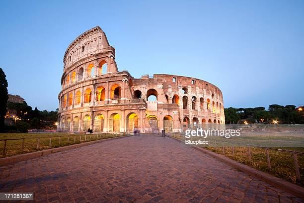 The Colosseum, Rome. Long exposure