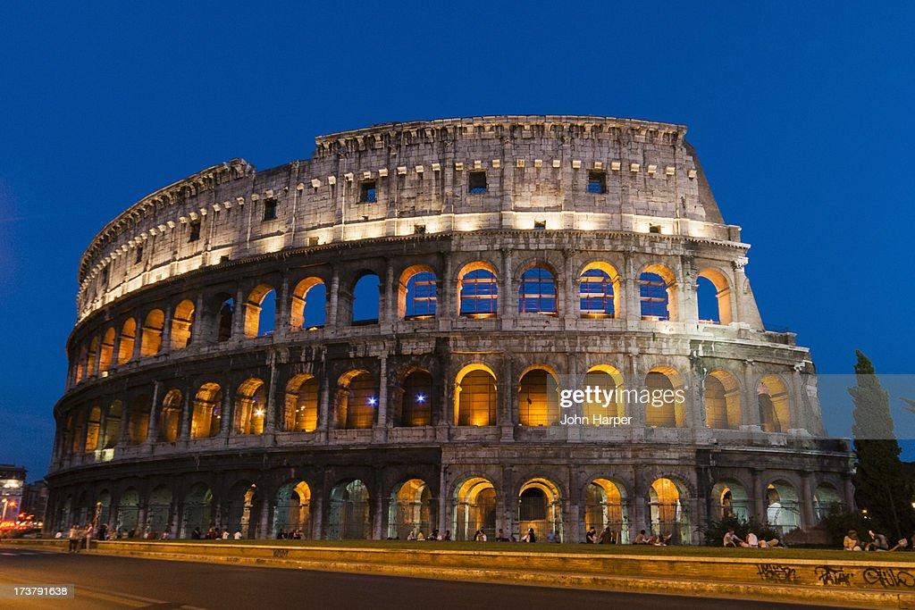 The Colosseum, Rome : ストックフォト
