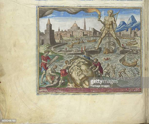 The Colossus of Rhodes 1572 Found in the collection of Rijksmuseum Amsterdam Artist Galle Philipp
